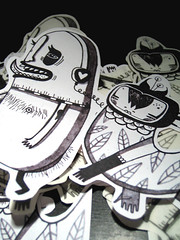 (malota) Tags: illustration drawing stickers monsters dibujo pegatinas monstruos ilustracin
