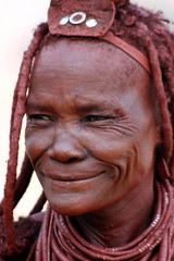 Expressions (EaglElla) Tags: africa people woman faces african culture tribal safari tribes afrika tribe ethnic namibia tribo himba afrique ethnology tribu nomadic namibie tribus ethnie
