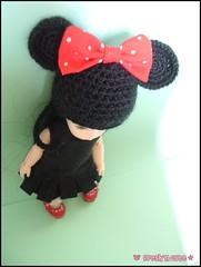minnie (- Annetta -) Tags: red black green mouse momo doll betty tiny bjd minnie yoko kiwi dollfie minni bf pf bluefairy pocketfairy pocketfairies