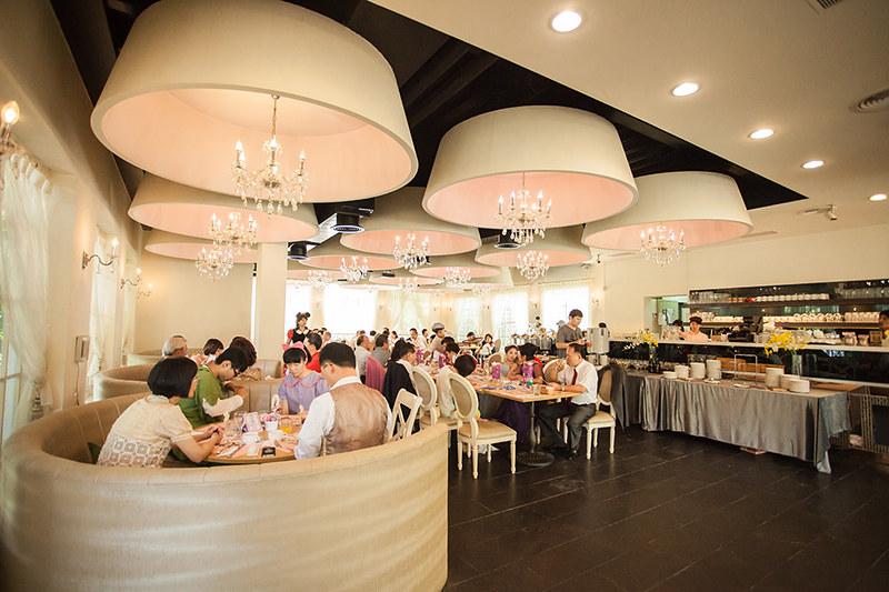[台中婚攝] 傑 & 毓 / 土城桐話庭園餐廳