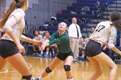 IMG_8341 (SJH Foto) Tags: girls volleyball high school york delone catholic team teen teenager bump burst mode libero