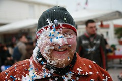 Foam Face. Viareggio Carnivale.