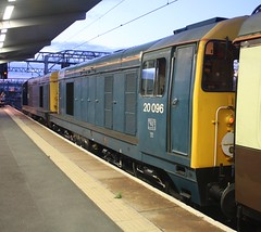 20150809 - 6210 - HNRC & GBRf - 20096 & 20107 - The Noah's Ark - 0942 Glasgow Central to Crewe - Crewe (Paul A Weston) Tags: crewe class20 hnrc gbrf thenoahsark 2009620107 0942glasgowcentraltocrewe