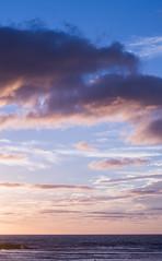 Late afternoon clouds II. (Sad Jebbour) Tags: ocean sea summer mer seascape clouds landscape 50mm mar nikon atlantic morocco maroc marruecos rabat oceano atlantico atlantique 2015 d3200 temara harhoura saadjebbour sidelabed