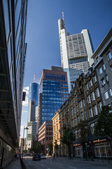 IMG_5152-1, Francfort (Design_Ex) Tags: road street city sunset sun tower cars beautiful buildings germany deutschland soleil tour frankfurt strasse august route paysage allemagne ville aout couchant francfort voitures maintower 2015 immeubles