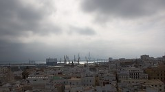 Cadiz Skyline (Jos Rambaud) Tags: city bridge church skyline puente andaluca cityscape iglesia roofs cdiz tejados towerbell campanarios