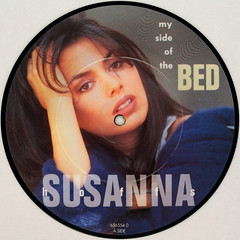 Susanna Hoffs - My Side Of The Bed (Leo Reynolds) Tags: xleol30x squaredcircle picturedisc picture disc 45rpm record single vinyl platter 7inch sqset121 canon eos 40d xx2015xx sqset