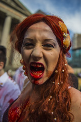 Zombie Walk Vancouver 2015 (Shaken, not stirred 2013) Tags: vancouver zombie flash mob zombiewalk