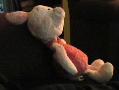 PIGLET..... (Daisy.Sue) Tags: stuffed piglet pinks winniethepoohcharacter winniesfriend summer2013