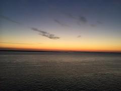 Coucher de soleil sur la mer du Nord (karine_avec_1_k) Tags: cruise sunset sea sun mer soleil boat coucher bateau