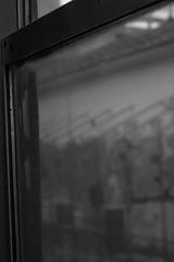 through window, from inside a moving train, between Arezzo and Florence, Italy, Nikon D40, nikon nikkor 55mm f-3.5, 10.15.15 (steve aimone) Tags: italy window monochrome architecture train florence monochromatic tuscany through arezzo trano movingtrain primelens nikond40 nikonprime nikonnikkor55mmf35