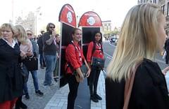 Opening Fame at Mediamarkt (GeRiviera) Tags: nederland netherlands noordholland amsterdam dutch centrum dam fame mediamarkt promotion iamsterdam