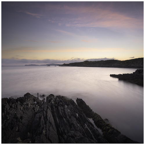 Evening Falls at Toormore Bay, West Cork