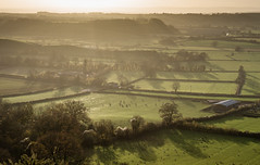 View west from Polden Hills, Somerset (JohnnyClarkee) Tags: street uk somerset hills polden