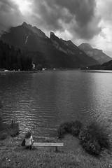 Alleghe - Contemplazione (Untalented Guy) Tags: lago dolomiti alleghe veneto contemplazione
