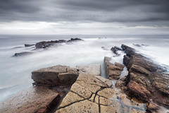 To the coast (43/50) (Stuart Stevenson) Tags: uk longexposure autumn sea seascape photography coast scotland rocks waves fife wideangle northsea geology anstruther clydevalley eastneuk anster stuartstevenson wwwzerogravitymeuk