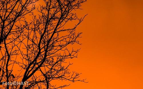 Zonsondergang op de Morra