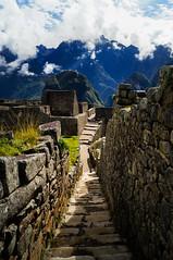 Inside Machu Picchu (Robelier Photoexplorer) Tags: trip peru southamerica inca cusco jungle traveling machupicchu urubamba arqueology urubambavalley