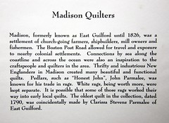 Madison Quilters (Madison Historical Society (CT-USA)) Tags: madisonhistoricalsociety madisonhistory mhs madison conn connecticut ct connecticutscenes country usa nikon nikond600 bobgundersen allisbushnellhouse abhouse old historical history museum quilt interesting image inside interior indoor photo picture places shot costume flickr newengland textile design cloth