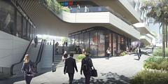 Проект небоскреба 50 Bridge Street в Сиднее от 3XN