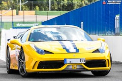 Ferrari 458 Speciale A (effeNovanta - YOUTUBE) Tags: cars car yellow canon eos video ferrari montecarlo monaco limitededition supercar supercars cavalcade youtube vallelunga topmarques giallomodena ferrari458italia autodromovallelunga topmarquesmontecarlo canon1100d monacotopmarques 458speciale ferrari458speciale ferraricavalcade ferrari458specialea ferraricavalcade2015