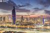 Kuwait - A Sunset in The Skyline (Sarah Al-Sayegh Photography | www.salsayegh.com) Tags: autumn sunset sky clouds canon photography cityscape skyscrapers bluehour kuwait koweit الكويت leefilter leefilters canoneos5dmarkiii wwwsalsayeghcom sarahhalsayeghphotography infosalsayeghcom