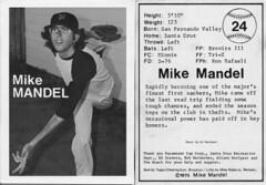 PRC Lecture: Mike Mandel's photo-baseball card, 1975 (PRCBoston) Tags: boston prc bostonuniversity smfa mikemandel photographicresourcecenter schoolofthemuseumoffineartsboston prclectures baseballphotographertradingcards
