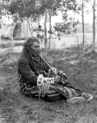 Big Belly, Tsuu T'ina chief (Provincial Archives of Alberta) Tags: canada first alberta nations