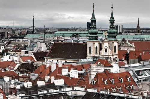 Vienna from Stephansdom