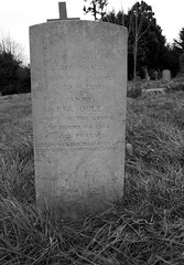 Rear of CWGC Private Ogle headstone records the names of his Parents (IanAWood) Tags: pinner londoncemeteries londonboroughofharrow walkingwithmynikon nikkorafs24mmf14g pinnercemetery nikondf
