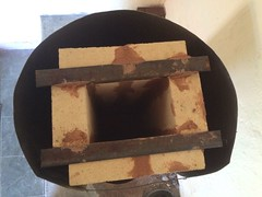 RMH0060 (velacreations) Tags: rmh woodburningstove rocketmassheater