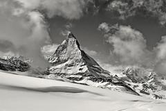 The Matterhorn , the Symbol of Switzerland. a view from the train to Gornergrat from Zermatt .No, 4213. (Izakigur) Tags: liberty izakigur flickr feel europe europa dieschweiz ch helvetia lasuisse musictomyeyes nikkor nikon suiza suisse suisia schweiz romandie suizo swiss svizzera سويسرا laventuresuisse switzerland schwyz winter snow neige wham schnee train topf25 topf600 100faves 200faves 250faves 500faves wow