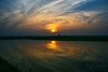 sunset (bhaskar samanta) Tags: nikon nature nikkor nikond3300 nikonindia naturephotography india bengal sunset landscape sun 1855mm 1855 d3300 iamnikon kitlense image reflection outdoor colour colourful cloud sky