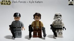 Dark Forces - Kyle Katarn (Random_Panda) Tags: lego figs fig figures figure minifigs minifig minifigures minifigure purist purists character characters star wars films film movie movies tv show shows television stormtrooper storm troop troops troopers trooper kyle katarn dark force mr sunday