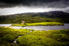 Another castle in Scotland.. (dmunro100) Tags: castle ruin scotland mcleod assynt loch lake moody ardvreck