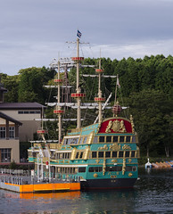Pirate Ship, Lake Ashi, Hakone (RedPlanetClaire) Tags: hakone japan japanese east asia pirateship