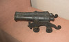 Antique toy double cannon (quinet) Tags: 2015 antik borneo kanone kuching malaysia sarawak spielzeug ancien antique cannon canon jouets toys