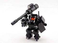 "F-T System ""Matchstick"" (Deltassius) Tags: mobile frame zero lego space mech mecha robot war military microscale"