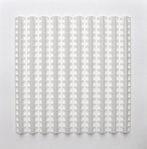Herman Coppus papier relëf 70x70cm