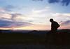 Why do we follow every sunset? (Arianna Rubini) Tags: 35mm film olympusmjuii olympus mjuii mju ii italy summerends summer stylus epic sunset clouds simple beauty bologna kodak 400 ultramax boy sky nature explore wanderlust folk