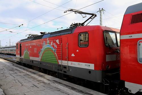 DB Regio 112 108-6 Genau Ihre Richtung, Stuttgart Hbf