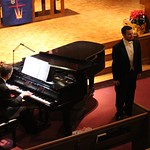 Vocal and piano performance.