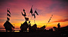 new day (T Glow) Tags: boats flags fisherman dog surise colors