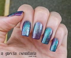 Nail Art: Galaxy 2.0 (A Garota Esmaltada) Tags: agarotaesmaltada unhas esmaltes unhasdecoradas unhasartísticas nails nailpolish naildesign nailart beautycolor galaxy galáxia