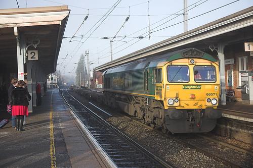 66571 at Stowmarket