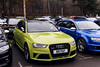 Interesting.. (Reece Garside | Photography) Tags: audi rs4 audirs4 rs german supercar summer spotter sun street car canon canon6d 6d hypercar history rare london iconsbythelake virginiawater green
