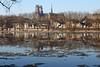 Frasils flottants (Photojol) Tags: frasils loire cathédrale hiver glace duit
