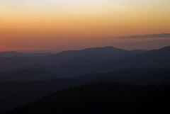 Clingmans Dome sunset (CarmenSisson) Tags: smokymountains tennessee mountains smokies greatsmokies greatsmokymountains travel tourism south southeast vacation clingmansdome seviercounty sevierville scenic landscape usa