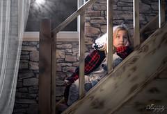 ... one winter night ... (Margarita K...) Tags: winter night child childhood fairytales portrait ngc light window nikon d5200 margaritakphotography mkphotography