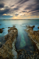 St George Hotel, Cyprus (billydorichards) Tags: autumn tranquil meditteranean landscape sunset wideangle nature waterblur shore vacation canon6d holiday clouds coast longexposure cyprus beach wintersun sea travel serene scenic ocean outdoors water canon1635mmf4l islandlife sky rocks chloraka cy